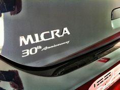 Nissan micra 30° anniversary www.daddario.it