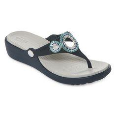 dc87ec3fd1fd Crocs Womens Sanrah Wedge Sandals - JCPenney