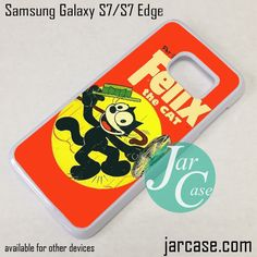 Felix The Cat 3 Phone Case for Samsung Galaxy S7 & S7 Edge