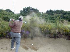 My bunker woes at Royal County Down.