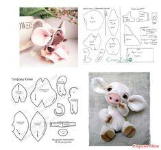 Image Article – Page 543457880034868334 Handmade Stuffed Animals, Sewing Stuffed Animals, Cute Stuffed Animals, Stuffed Animal Patterns, Animal Sewing Patterns, Sewing Patterns Free, Doll Patterns, Sewing Toys, Sewing Crafts