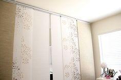 Ikea Panel Curtains On Closet   Google Search Bauernhaus Esszimmer, Wohn  Schlafzimmer, Wohnzimmer,