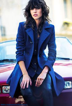 I'm in love with this coat!  Moda otoño invierno 2015. Tapados 2015 Markova. Moda otoño invierno 2015.