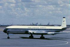East African Airways De Havilland Comet, British European Airways, British Aerospace, Civil Aviation, Severe Weather, Royal Air Force, Nairobi, Africa Travel, Historical Photos