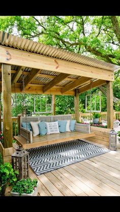 Love this for a back yard swing!!