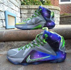 Nike LeBron 12 Galaxy Dunk Force
