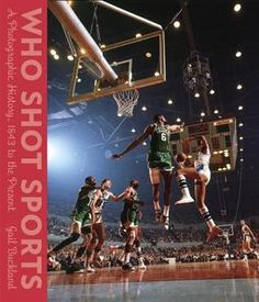 Who Shot Sports: A Photographic History, 1843 to the Present by Gail Buckland. Here in almost 300 spectacular images--more than 120 in full color--are great action photographs; portraits of athletes, famous and unknown; behind the scenes, athletes off the field; athletes practicing, working out, the daily relentless effort of training and achieving, physical perfection.