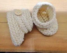 Vauva kengät tossut Ugg virkattu lapset virkkaus lahja muistaminen tuliainen ristiäislahja vauva joululahja ohje ok