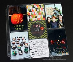 Project Life Seasonal Snapshot Halloween page ~ Cindy Schuster