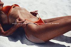 Eva Czarnocka Velvet bikini from Aurelia Aqua