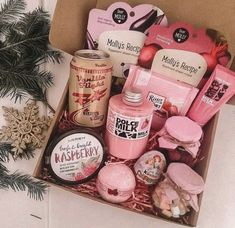 pink gift box for girls
