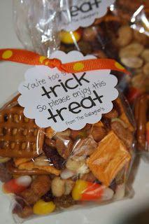 I really should be sleeping....: Fall snack mix