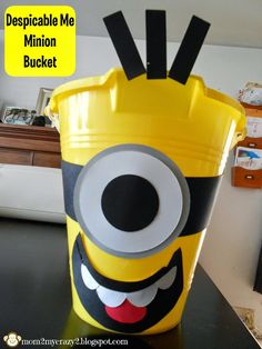Running away? I'll help you pack.: Despicable Me Birthday ... Minion Bucket