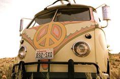 VW Peace Bus