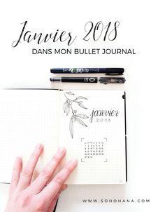 Janvier 2018 dans mon Bullet Journal