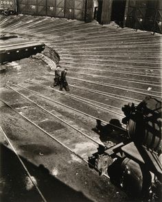 Nathan Lerner Roundhouse, Chicago 1936, printed later