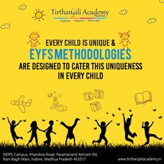 We believe every child is born with unique potential. Tirthanajali Academy provides a caring and enriching environment to help your child discover his/her unique capabilities at his/her own pace. Eyfs Curriculum, Innovation, Believe, Environment, Memes, Children, Unique, Infants, Kids