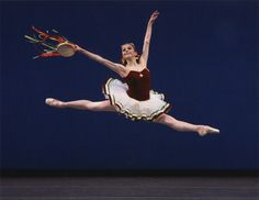 "Megan Fairchild in George Balanchine's ""Tarantella."" Photograph by Paul Kolnik"