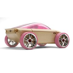C9 Full Size Pink Sports Car