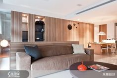 無距無壓的木設計居家