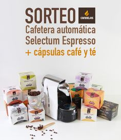 Sorteo Cafés Candelas: cafetera y lote de cápsulas