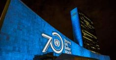 Christ in Rio, Empire State Bldg, to be Turned UN Blue on UN Day