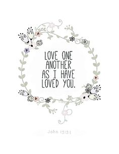 Love.....forgive and love.