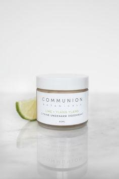 Communion Botanicals Citrine Underarm Deodorant Underarm Deodorant, Communion, Skincare, Lime, Skincare Routine, Skin Care, Skin Treatments, Limes