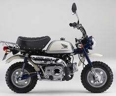To know more about Honda Monkey, visit Sumally, a social network that gathers together all the wanted things in the world! Featuring over other Honda items too! Vintage Honda Motorcycles, Honda Bikes, Moto Bike, Motorcycle Bike, Motorcycle Girls, 50cc Moped, Ducati Monster Custom, Womens Motorcycle Helmets, Pocket Bike