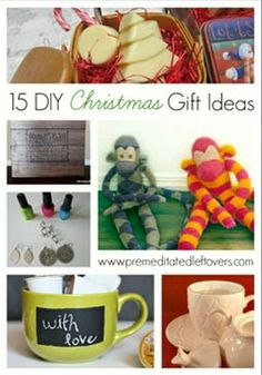 15 DIY Holiday Gift Ideas .