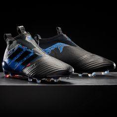 adidas ACE 17+ Purecontrol FG Dragon - Negro Azul. Taquetes De Futbol ... 286a847fb90dd