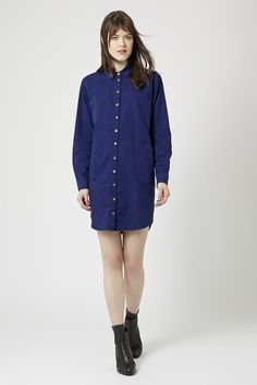 Workwear Shirt Dress by Boutique