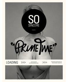 So Sincere Presents: Prime Time.