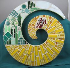 WIZARD OF OZ . Yellow Brick Road mosaic art . etsy.com