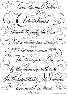 T'was the night before Christmas ~ ☆