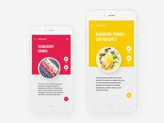 Tubik studio   healthy food