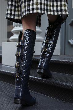 Assured, what fetish alina rain boots