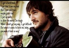 You make it look so easy, Eric Church.. We spend Saturday mornings dancing barefoot in the kitchen to this song <3