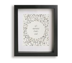The Best Of What's Around / Dave Matthews Band - Music Lyric Art - wedding gift idea, wedding sign, wall art, typography print, home decor