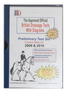 British Dressage Test Sheets Preliminary