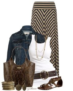 I bought an outfit just like this today, cannot wait to wear it!! DH