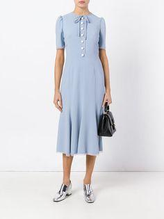 Dolce & Gabbana платье-шифт средней длины