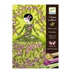Набор для творчества «Блестящие платья», DJECO