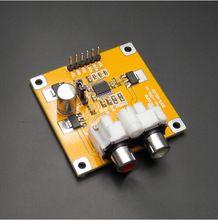 Hoge kwaliteit pcm5102/pcm5102a dac decoder i2s framboos rode kern speler pk es9023 pi(China (Mainland))