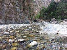 Samaria Gorge in winter