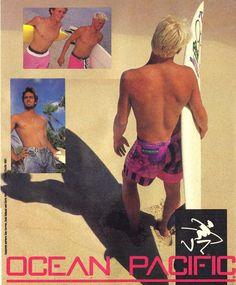 1987 Ocean Pacific ad