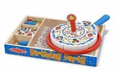 Birthday Party Play Food Set