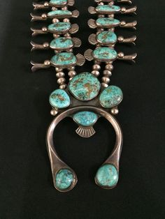 It has a combination of ingot and sheet silver used on it. Circa 1950s - 60s. It features hand made sterling silver beads and it's Navajo in style, however there is no maker's hallmark (which is common of Native Americanjewelry made in the early 1970's and prior ). | eBay!