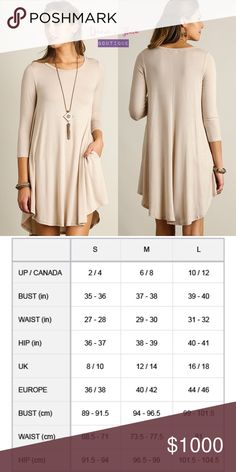 "🌟Cappuccino Scoop Neck T-Shirt Dress🌟 🌟BRAND NEW🌟  Scoop neck t-shirt dress with scalloped hemline. Fabric is Rayon.  Color: Cappucino  Available sizes: Small, Medium, Large.  💟Submit your offer thru the ""Offer"" button 💟NO Price discussion in the comment 💟NO Lowballing 💟NO Trades Davin+Theia Dresses"