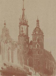 Kościół Panny Marii w Krakowie - Leon Wyczółkowski